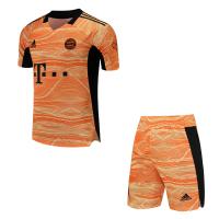 Bayern Munich Soccer Jersey Goalkeeper Kit(Shirt+Short) Replica 2021/22