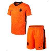 Netherlands Soccer Jersey Home Kit (Jersey+Short) Replica 2020
