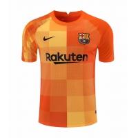 Barcelona Soccer Jersey Goalkeeper Orange Replica 2021/22