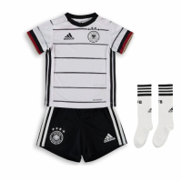 Germany Kid's Soccer Jersey Home Whole Kit (Shirt+Short+Socks) 2021