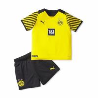 Borussia Dortmund Kid's Soccer Jersey Home Kit (Jersey+Short) 2021/22