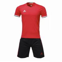 Customize Team Soccer Jersey Kit (Shirt+Short) Red - 1707