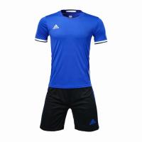 Customize Team Soccer Jersey Kit (Shirt+Short) Blue - 1707