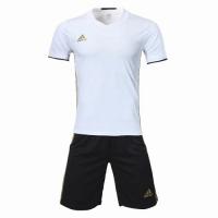 Customize Team Soccer Jersey Kit (Shirt+Short) White - 1707