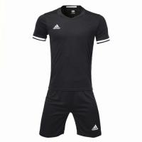 Customize Team Soccer Jersey Kit (Shirt+Short) Black - 1707