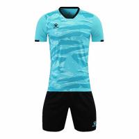 Kelme Customize Team Soccer Jersey Kit (Shirt+Short) Green - 1003