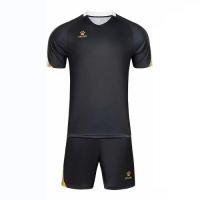 Kelme Customize Team Soccer Jersey Kit (Shirt+Short) Black - 1004