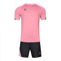 Kelme Customize Team Soccer Jersey Kit (Shirt+Short) Pink - 1004