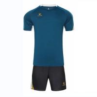 Kelme Customize Team Soccer Jersey Kit (Shirt+Short) Green - 1004