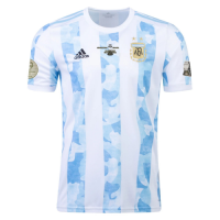 Argentina Soccer Jersey Home Copa America 2021 Final (Player Version)