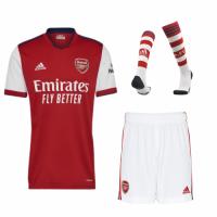 Arsenal Soccer Jersey Home Kit (Jersey+Short+Socks) Replica 2021/22