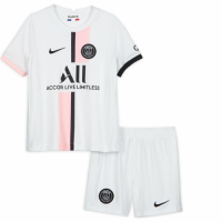 PSG Kid's Soccer Jersey Away Kit (Jersey+Short) 2021/22