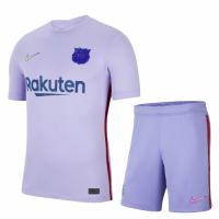 Barcelona Soccer Jersey Away Kit(Jersey+Short) Replica 2021/22