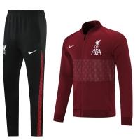 Liverpool Training Jacket Kit (Jacket+Pants) Purplish Red 2021/22