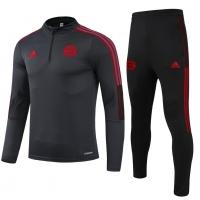 Bayern Munich Zipper Sweat Kit(Top+Pants) Black 2021/22