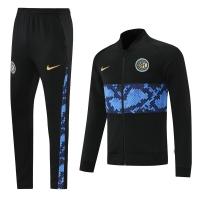 Inter Milan Training Kit (Jacket+Pants) Black&Blue 2021/22