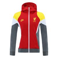 Liverpool Hoodie Jacket Red 2021/22