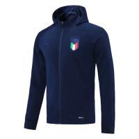 Italy Hoodie Jacket Navy 2021/22