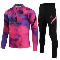 PSG Zipper Sweat Kit(Top+Pants) Pink 2021/22