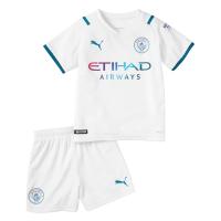 Manchester City Kid's Soccer Jersey Away Kit(Jersey+Short) 2021/22