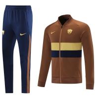 Pumas UNAM Training Kit (Jacket+Pants) Brown 2021/22