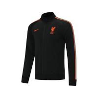 Liverpool Training Jacket Black 2021/22