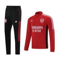 Arsenal Zipper Sweat Kit(Top+Pants) Red 2021/22