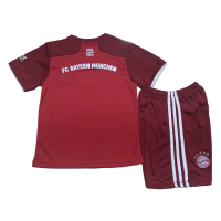 Bayern Munich Kid's Soccer Jersey Home Kit(Jersey+Short) Replica 2021/22