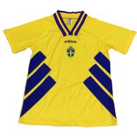 Retro 1994 Sweden Home Soccer Jersey