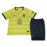 Chelsea Kid's Soccer Jersey Away Kit(Jersey+Short) Replica 2021/22