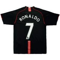 Manchester United RONALDO #7 Retro Soccer Jersey Third Away Replica 2007/08