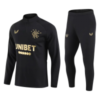 Glasgow Rangers Zipper Sweat Kit(Top+Pants) Black 2021/22