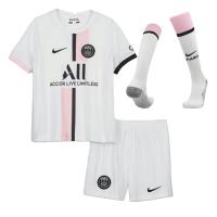 PSG Kid's Soccer Jersey Away Whole Kit(Jersey+Short+Socks) Replica 2021/22