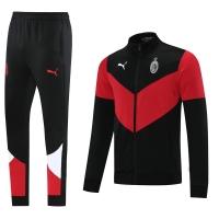 AC Milan Training Kit (Jacket+Pants) Black&Red 2021/22