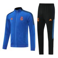 Real Madrid Training Kit (Jacket+Pants) Blue 2021/22