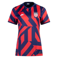 USWNT Women's Soccer Jersey Away (Four Stars) Replica 2021