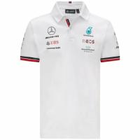 Mercedes AMG Petronas F1 Racing Team Polo - White 2021