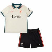 Liverpool Kid's Soccer Jersey Away Kit(Jersey+Short) Replica 2021/22