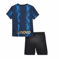 Inter Milan Kid's Soccer Jersey Home Kit (Jersey+Short) Replica 2021/22