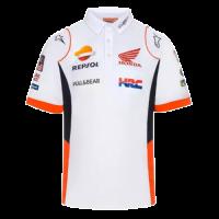 Repsol Honda White Polo Shirt Replica 2021