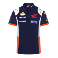 Repsol Honda Navy Polo Shirt Replica 2021