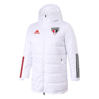 Sao Paulo FC Training Winter Long Jacket White 2021/22