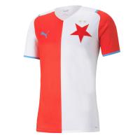 SK Slavia Praha Soccer Jersey Home Replica 2021/22