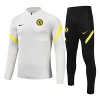 Kid's Chelsea Zipper Sweat Kit(Top+Pants) Gray 2021/22