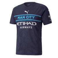 Manchester City Soccer Jersey Third Away Replica 2021/22