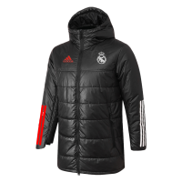 Real Madrid Training Winter Long Jacket Black 2021/22