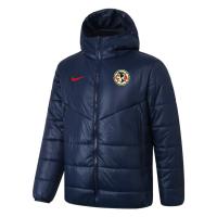 Club America Training Winter Jacket Navy 2021/22