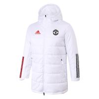Manchester United Training Winter Long Jacket White 2021/22