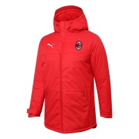 AC Milan Training Winter Long Jacket Red 2021/22