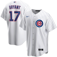 Men's Chicago Cubs Kris Bryant #17 Nike White Home Player Jersey